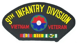9th Infantry Division Vietnam Veteran Patches